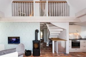 Bliis Tidjen - Wohnung 1 - Wohnesszimmer - Kamin
